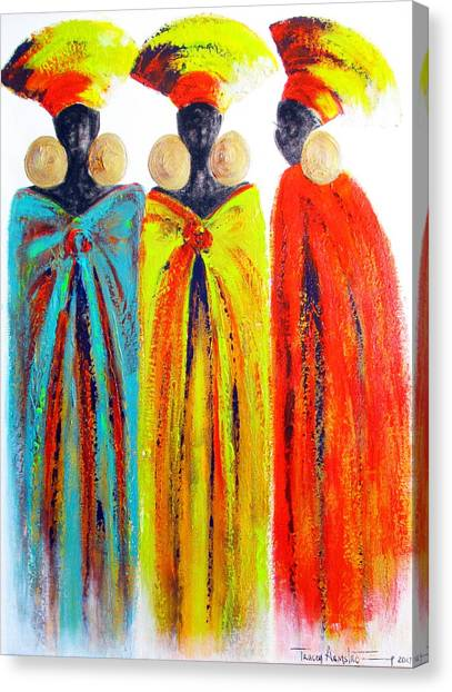 Zulu Ladies Canvas Print