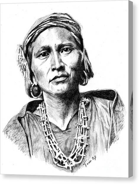Zuni Governor Canvas Print