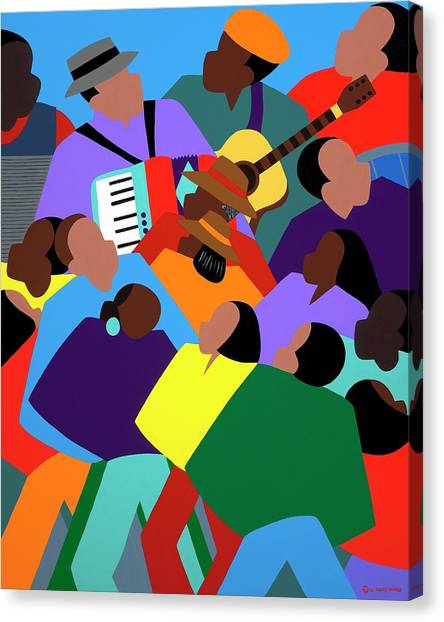 Canvas Print - Zydeco by Synthia SAINT JAMES