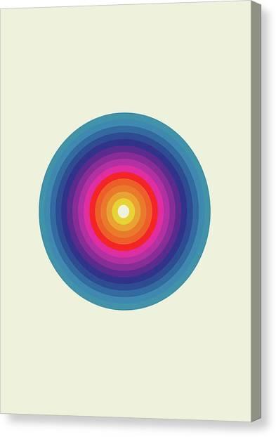 Minimal Canvas Print - Zykol by Nicholas Ely