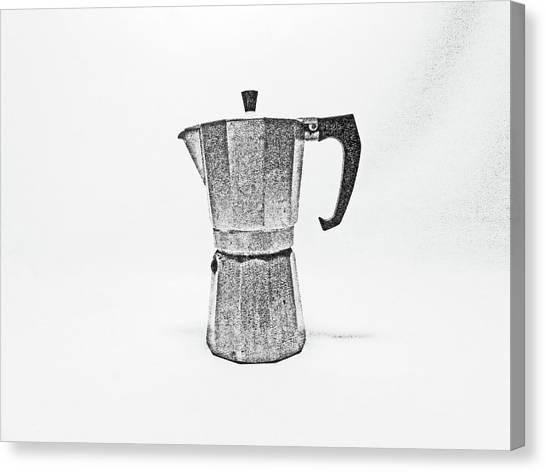 08/05/19 Cafetiere Canvas Print