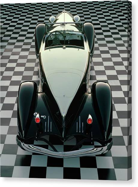 1933 Duesenberg Model Sj Speedster With Canvas Print