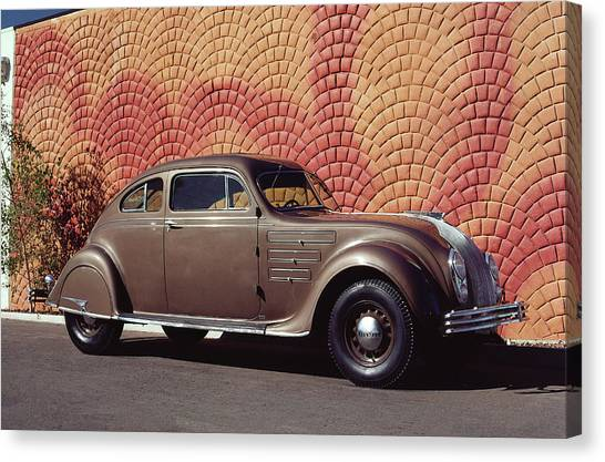 1934 Chrysler Airflow Canvas Print