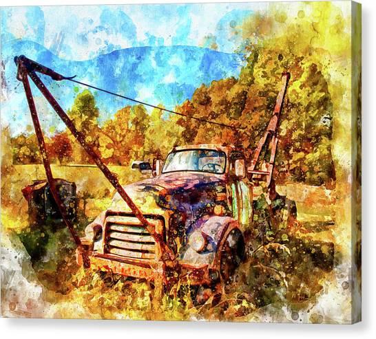 1950 Gmc Truck Canvas Print