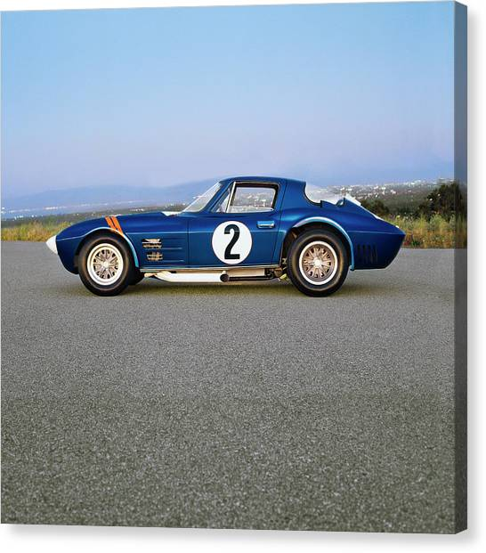 1963 Chevrolet Corvette Grand Sport Canvas Print by Car Culture