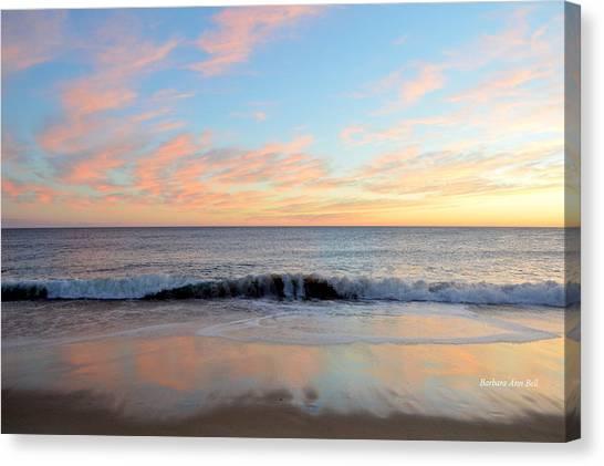 1/6/19 Obx Sunrise Canvas Print
