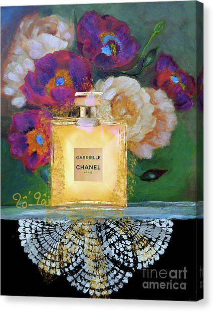 Jimmy Choo Canvas Print - A Bouquet For My Valentine 2 by To-Tam Gerwe
