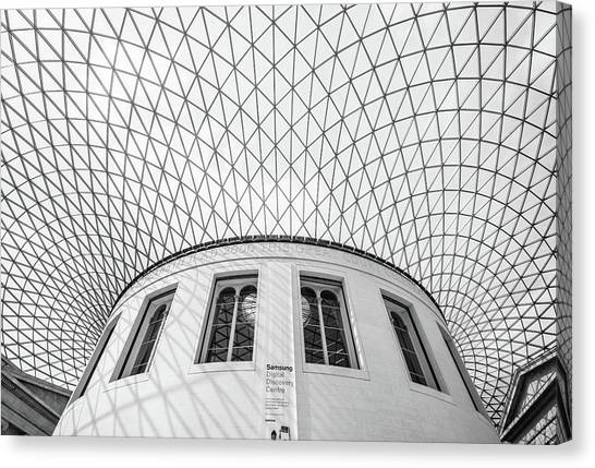 The British Museum Canvas Print - Abstract by Martin Newman