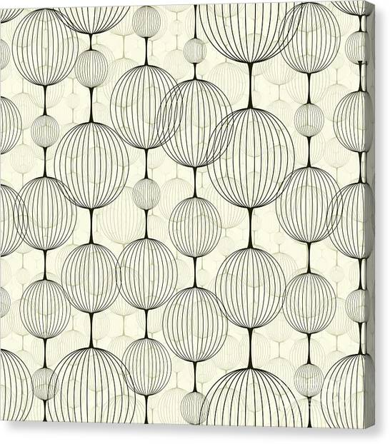 Texture Canvas Print - Abstract Seamless Pattern,  Background by Pgmart
