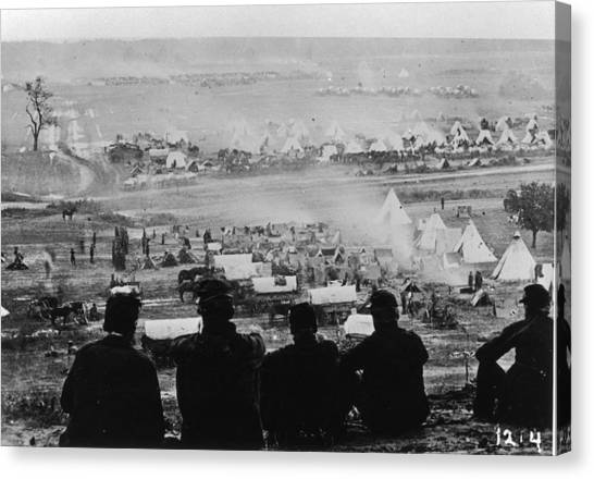 American Civil War Canvas Print by Fotosearch