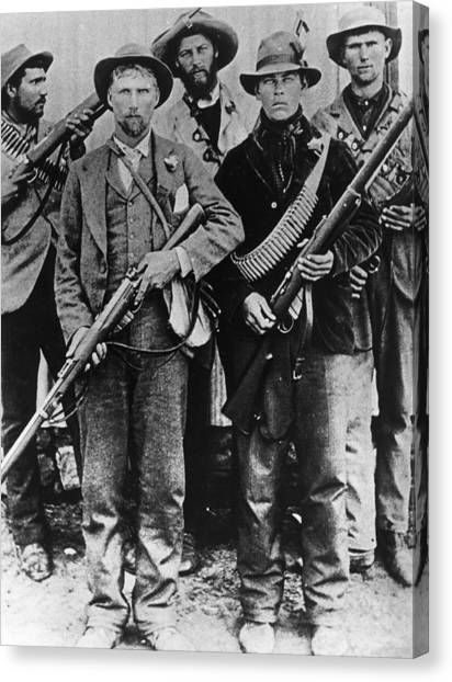 Armed Afrikaners Canvas Print by Hulton Archive