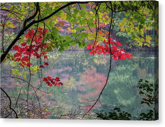 Autumn At Spirit Springs Canvas Print