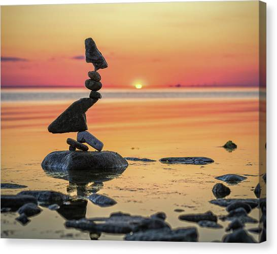Balancing Art #6-2 Canvas Print