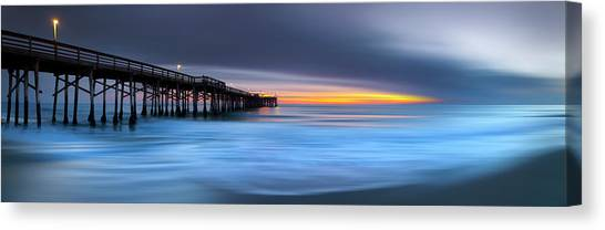 Sublime Canvas Print - Balboa Pastels by Sean Davey