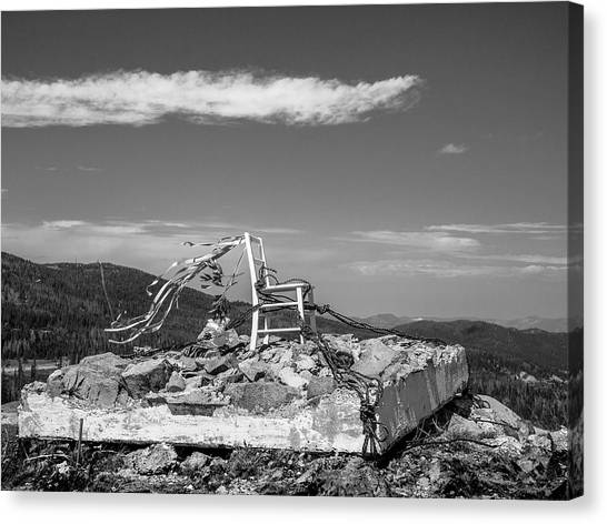 Beacon / The Chair Project Canvas Print