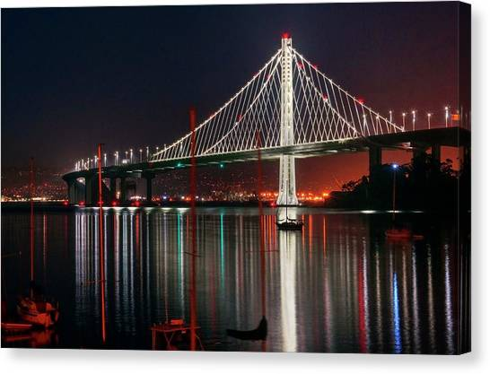 Canvas Print featuring the photograph Billion Dollar View by Quality HDR Photography