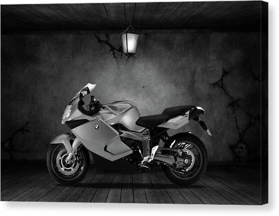 Bmw Canvas Print - Bmw K1300s Old Room by Smart Aviation