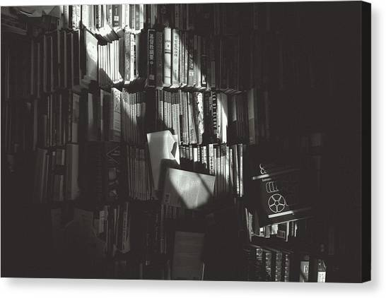 Academic Art Canvas Print - Books by Hyuntae Kim