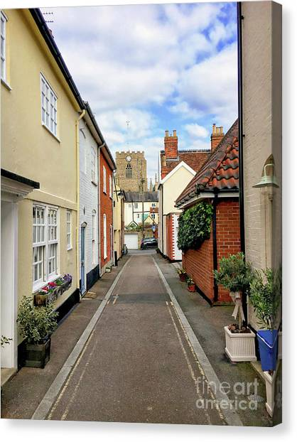 Canvas Print - Bury St Edmunds Street by Tom Gowanlock