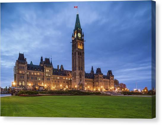 Parliament Hill Canvas Print - Canada, Ontario, Ottawa, Canadian by Walter Bibikow