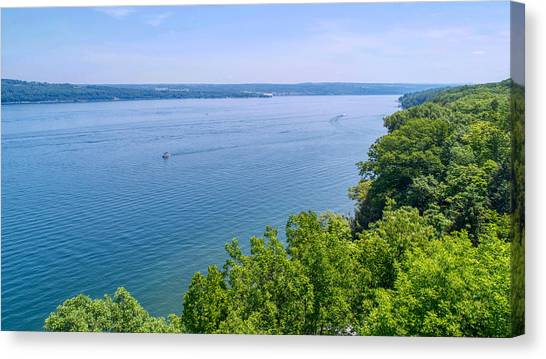 Cayuga Lake Canvas Print