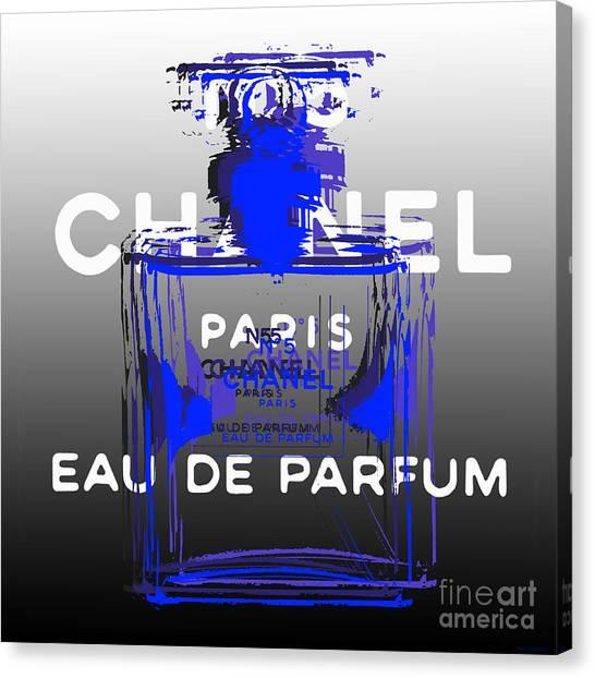 Chanel No 5 - Pop Art Canvas Print
