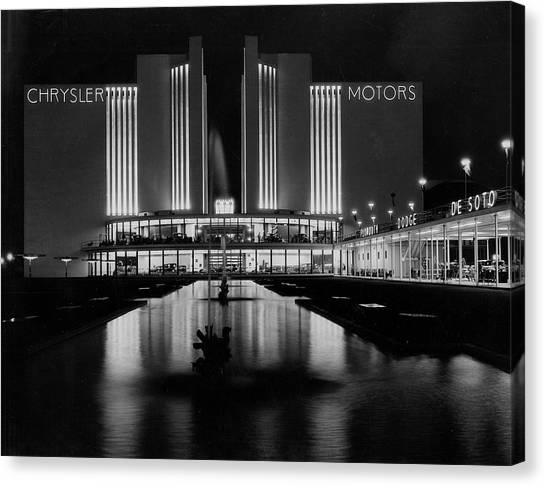 Chrysler Motors Building At Chicago By Chicago History Museum
