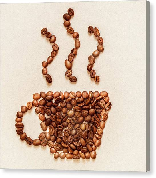 Coffee Symbol Canvas Print
