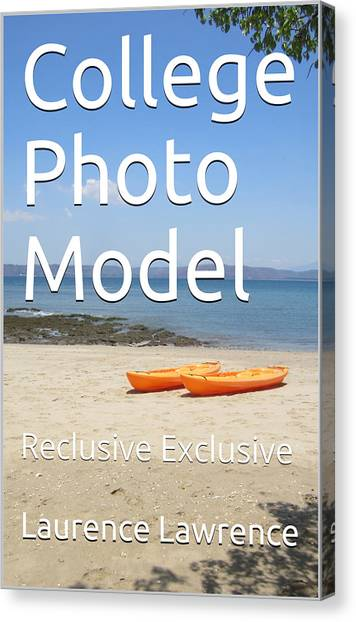 Canvas Print - College Photo Model K by Laurence Lawrence