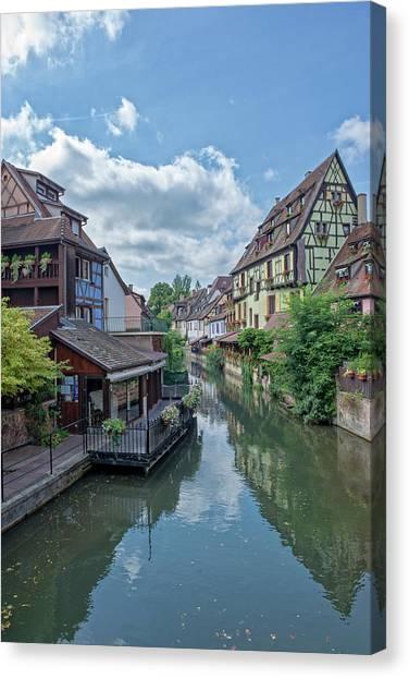 Colmar In France Canvas Print