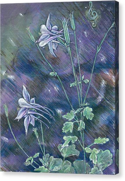Columbine Song Canvas Print