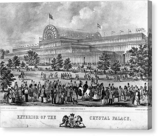 Crystal Palace Canvas Print by Hulton Archive