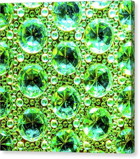 Cut Glass Beads 2 Canvas Print