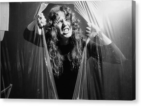 Whitesnake Canvas Print - David Coverdale by Fin Costello