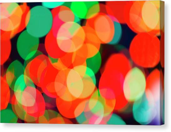 Defocused Lights Canvas Print by Tetra Images