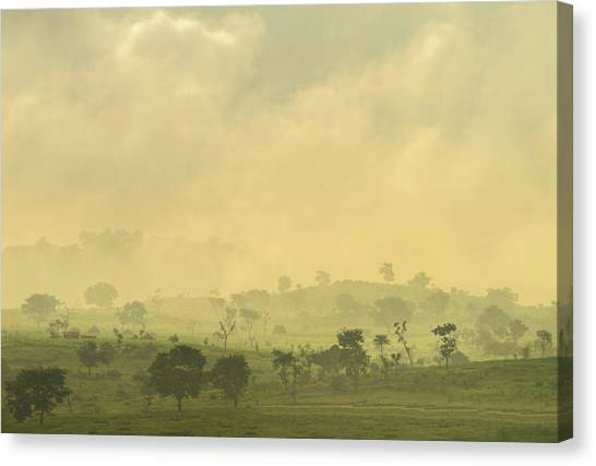 Nigeria Canvas Print - Early Morning by Irene Becker Photography