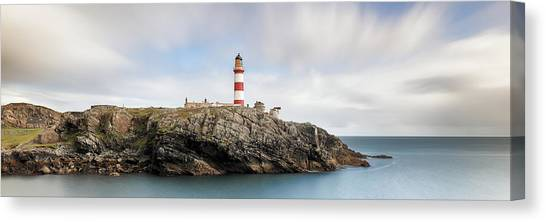 Canvas Print featuring the photograph Eilean Glas Lighthouse - Western Isles by Grant Glendinning