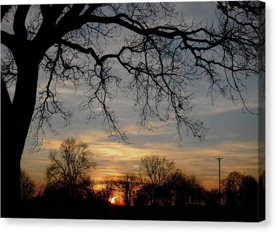 Evening Fades Away Canvas Print