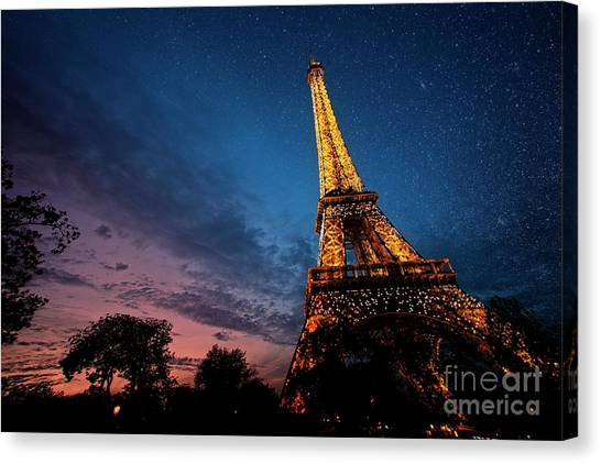 Fading Light Canvas Print