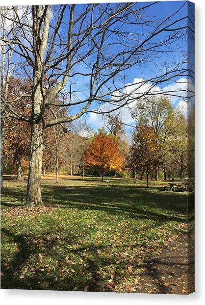 Fall Season  Canvas Print