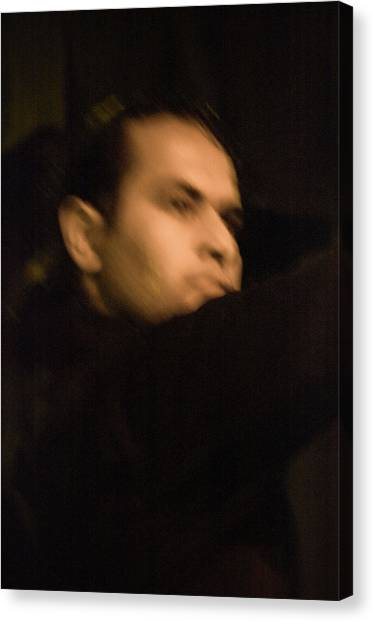 Canvas Print featuring the photograph Flamenco 42 by Catherine Sobredo
