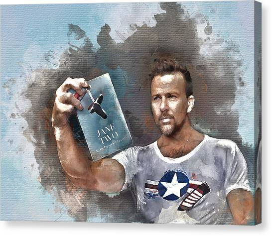 Flanery With Jane Two Canvas Print