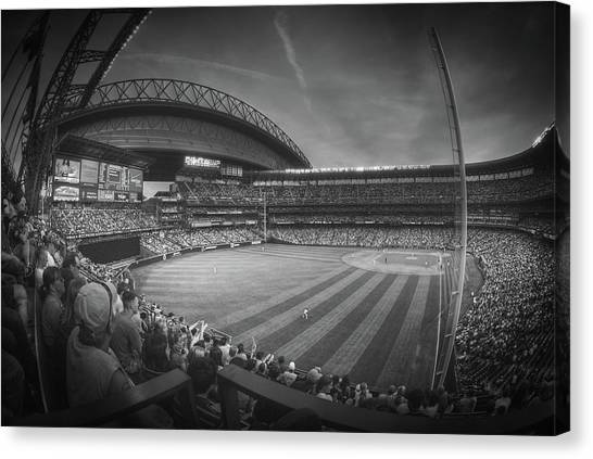 Seattle Mariners Canvas Print - From The Bleacher Seats At Safeco Field by Pixabay