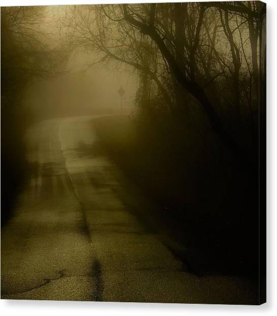 Golden Fog Canvas Print