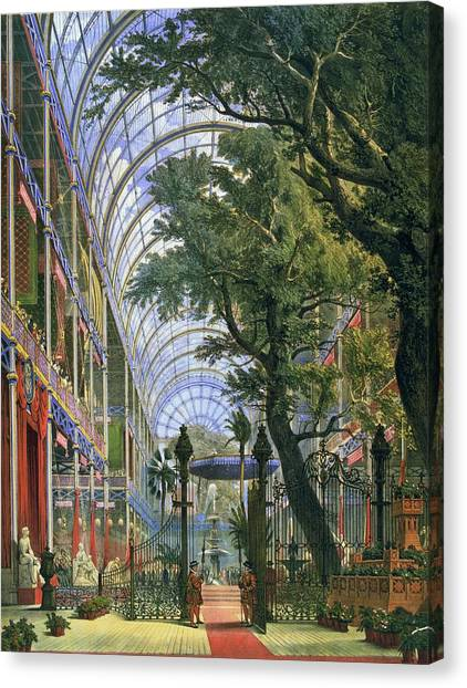 Great Exhibition Canvas Print by Hulton Archive