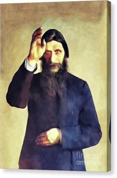 Orthodox Canvas Print - Grigori Rasputin by John Springfield