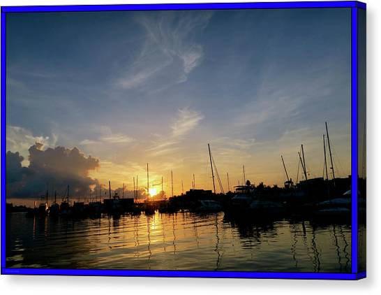 Everglades Canvas Print - Harbour Daybreak by Laurence Lawrence