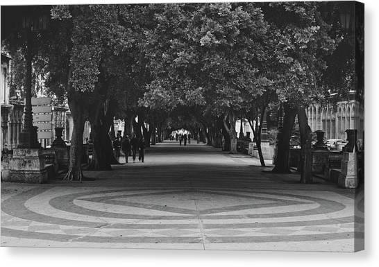 Prado Canvas Print - Havana's Prado Promenade  by Mountain Dreams