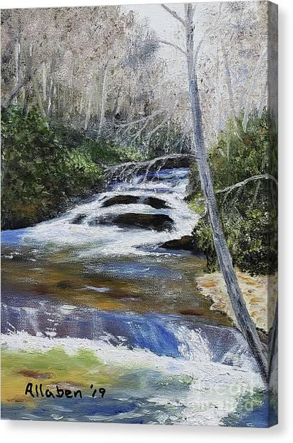 Horsepasture River Canvas Print