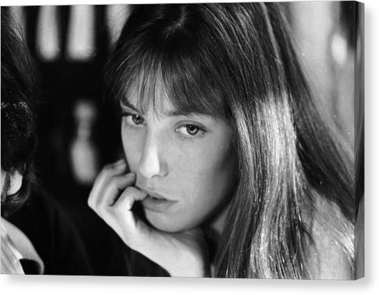 Jane Birkin Canvas Print by Keystone